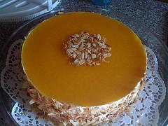 Pfrisch Melba Torte mit Rosmarin
