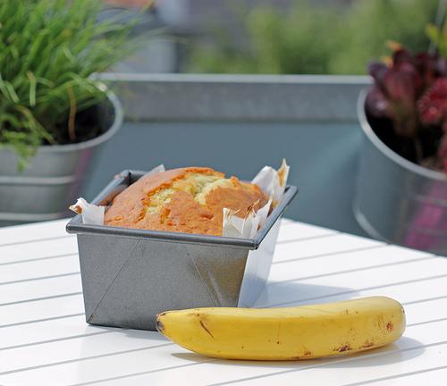 Einfacher Bananenkuchen