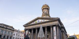 Glasgow im Winter