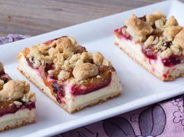 Zwetschgen Quark Blechkuchen via lunchforone