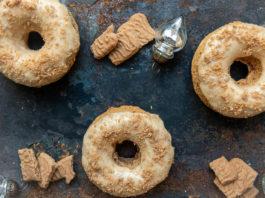 Spekulatius Donuts via lunchforone